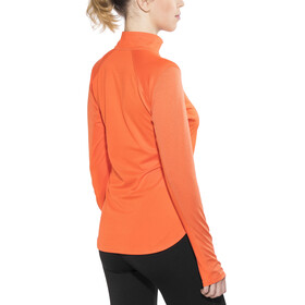 The North Face Motivation 1/4 Zip L/S Shirt Women Nasturtium Orange